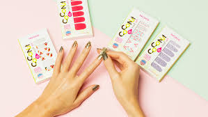 coconut nail art by incoco
