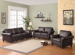 furniture modern brown comfortable laminated leather sofa sets
