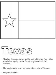 texas state coloring page clipart best inside texas flag coloring