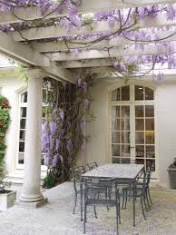Wisteria Home Decor by French Country Backyard Photos Hgtv Old World Home Exterior With