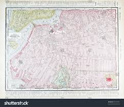 Street Map Of New York City by Street Map Downtown Brooklyn New York Stock Photo 90707962