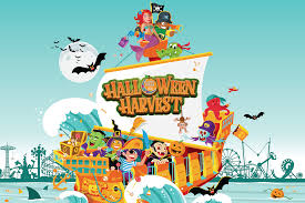 halloween harvest luna park in coney island