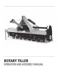 tarter rotary tiller manual reversing smooth top hr tractor clutch