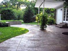 stamped concrete patio backyard pinterest stamped concrete
