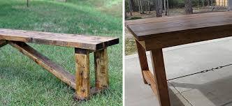 Wooden Bench Plans To Build by 77 Diy Bench Ideas U2013 Storage Pallet Garden Cushion Rilane
