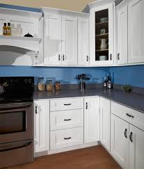 Kitchen Cabinet Paint Color Blue And White Kitchen Pueblosinfronteras With Regard To Blue