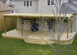 Deck Pergola Ideas by Pictures Of Decks For Small Back Yards Backyard Projects Are