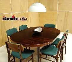 Mid Century Modern Dining Room Tables Mid Century Danish Rosewood Round Dining Table Danish Mafia