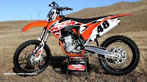 motocross action magazine subscription first ride 2015 ktm 450sxf motocross action magazine youtube