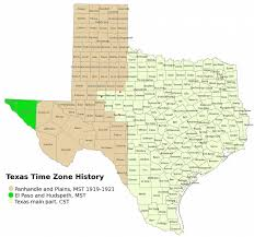 Time Zone Map United States Of America by File Texas Timezones Jpg Wikimedia Commons