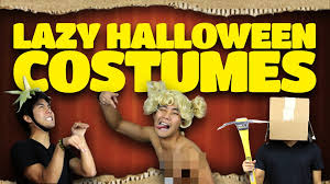 lazy halloween costume ideas youtube