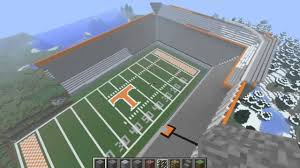 Neyland Stadium Map Neyland Stadium Minecraft Youtube