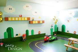 Super Mario Home Decor by A Super Mario 5th Birthday