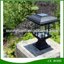 Solar Fence Lighting by Solar Power Led Landscape Lawn Garden Fence Light Solar Post Caps