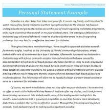Personal Statement Essay Examples   Personal Statement Format