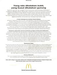 Job Resume Malaysia by Mcdonald U0027s Malaysia Hits Back At Boycott With An Ad Marketing