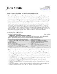 Example Resume  Resume Templates For Marketing  account supervisor         Example Resume  Corporate Promotions Coordinator For Resume Templates For Marketing With Professional Experience And Education