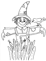 scarecrow coloring pages u0026 printables u2013 fun for halloween