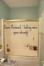 shower stall glass doors how to remove shower glass doors u2013