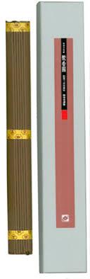 Shu koh koku - Silk Road Long Aloeswood Incense Sticks - baieido_shukohkoku_long