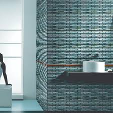 glass tiles mosaic and listelles for backsplashes and feature walls