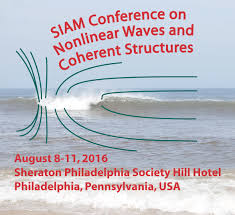 siam siam conference on nonlinear waves and coherent structures