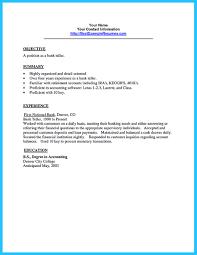 Bank Teller Resume Sample  resume template resumes templates bank