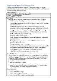 Executive Assistant Job Resume by Assistant Office Assistant Job Description Resume