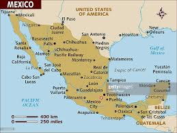 Mexico Cities Map by Map Of Mexico Stock Illustration Getty Images