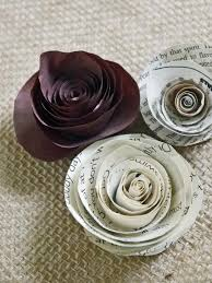 how to make rolled paper roses hgtv