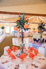 Rainbow Wedding Centerpieces by Table Overlay Napkins And Centerpiece In Same Color My