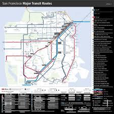San Francisco Bart Map Bay Area Transportation Maps Bart Muni Caltrain U0026 More Davide Pio