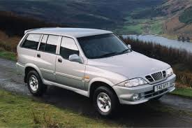 daewoo daewoo musso 4x4 1999 car review honest john
