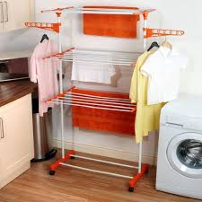 homeshop18 online shopping india kawachi laundry hanger power dryer easy mild steel cloth drying stand