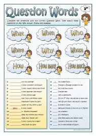 thanksgiving vocabulary pictures 171 free esl question words worksheets