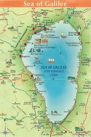 Exodus Route Map by Maps Of The Sea Of Galilee Israel Bible And Faith