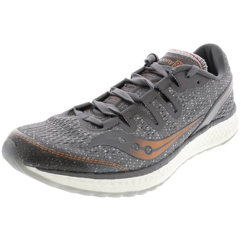 Saucony Freedom ISO Mesh Low-Top Running Shoes Gray 10.5 Medium (B,M)