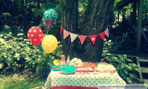 1st Birthday Decoration Ideas At Home First Birthday Party Ideas Montessori Nature