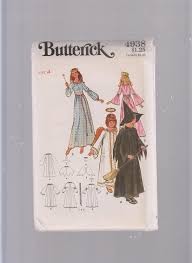 pattern witch costume amazon com butterick halloween costume witch angel fairy