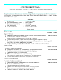Resume Examples  Office Manager Resume Examples  office manager     Rufoot Resumes  Esay  and Templates