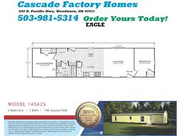 1 Bedroom Modular Homes Floor Plans by 14562s Eagle Floor Plan