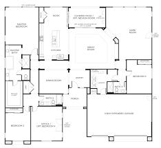 4 bedroom open floor plan also ranch plans for bath 2017 images