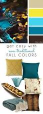Silk Peacock Home Decor by Decorating With Style Get Cozy With Non Traditional Fall Colors
