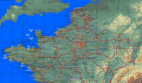 Map Of France And Spain by Map Of Northern France Recana Masana