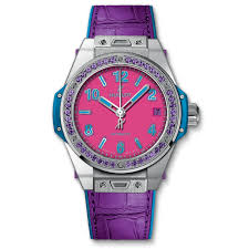big bang pop art steel purple 39mm