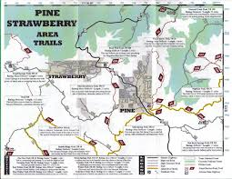 Payson Arizona Map by Pine Canyon Trail To Dripping Springs 26 Hiking With Jeanne