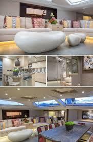 beyond comfort stunning interiors in luxury yacht azureazure com
