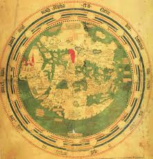 Map Of The Red Sea Mappa Mundi By Andreas Walsperger 1448 South Is At Top Red Sea