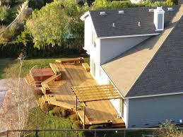 backyard decks and patios ideas the unique backyard deck ideas