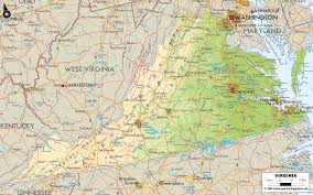 Virginia On Map by Virginia Map Travel Holiday Vacations
